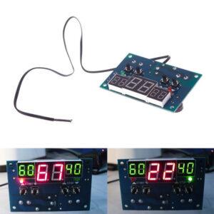 Elektronisk termostat med temperaturregulator DC 9V-15V