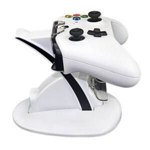 Vit Laddningsställ Dockningsstation för Xbox One kontroller