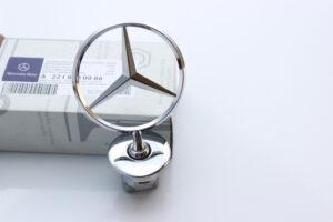 Mercedes-Benz huvstjärna Emblem OEM A2218800086