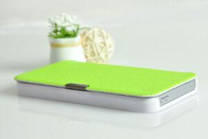 Grönt Super tunn iPhone 5 5s Fodral / Väska.