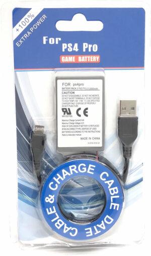 Batteri till Sony Dualshock 4 handkontroll V2 2000mAh