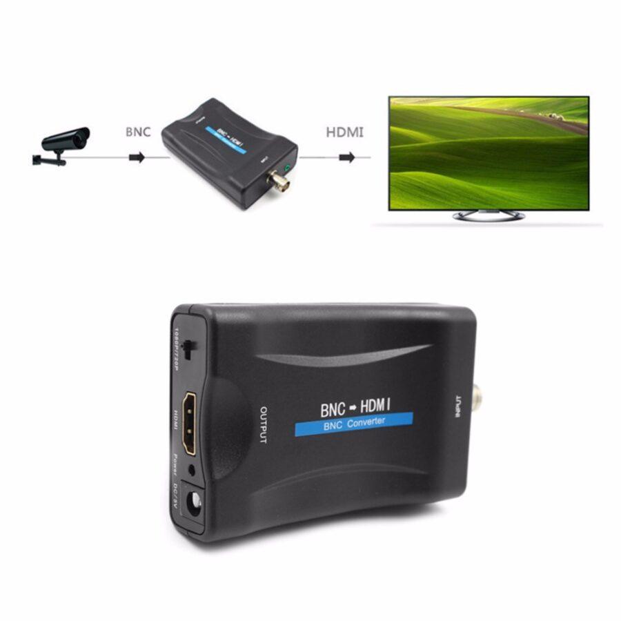 Omvandlare BNC till HDMI