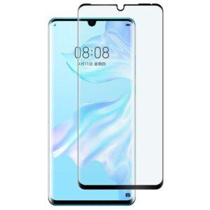 Glasskydd Huawei P30 Lite Härdat Täcker hela skärmen