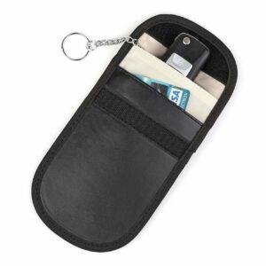Keyless RFID skydd bilnyckelfodral