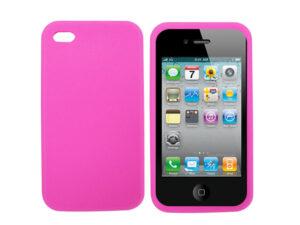 Silikon skydd för iPhone 4/4s Rosa