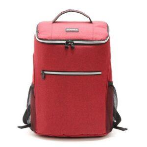 20L Smidig kylryggsäck med Extra Utrymme Röd