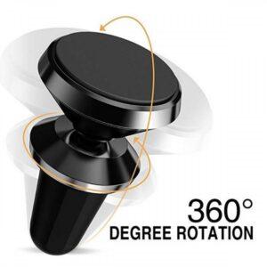 Universal Magnetisk mobilhållare för fläktgaller 360 Roterande