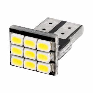 2X T10/w5w LED Lampa 9 stycken (Extremt Slim)