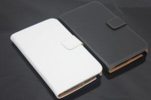 Vit Plånbok till Samsung Galaxy Note 2 N7100 med korthållare