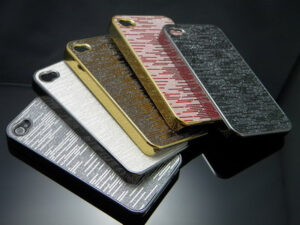 iPhone 4/4s lux skal Silver