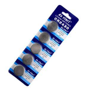 Litiumbatteri CR2430 5-pack