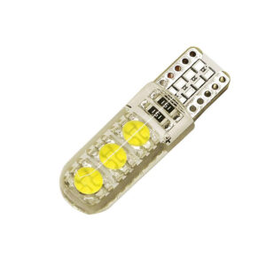 2X CANBUS T10 W5W 6 LED - Vit