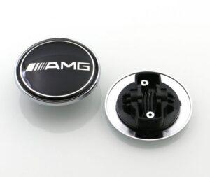 Mercedes-Benz motorhuv Emblem AMG 57mm