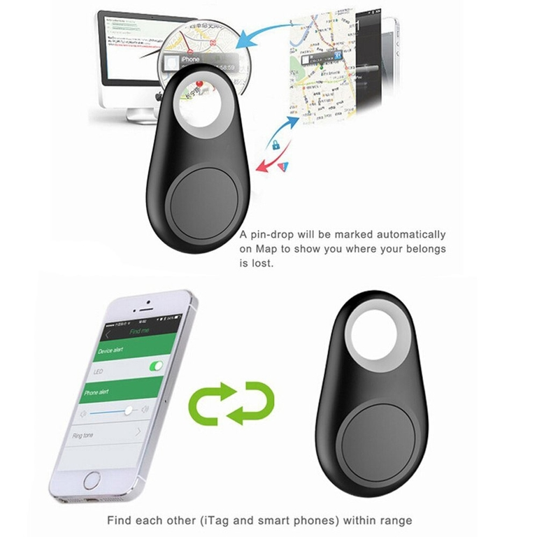 Keyfinder iTag Bluetooth tracker ink batteri