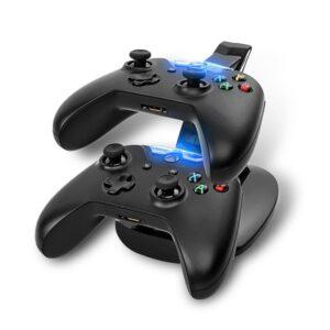 Svart Laddningsställ Dockningsstation för Xbox One kontroller