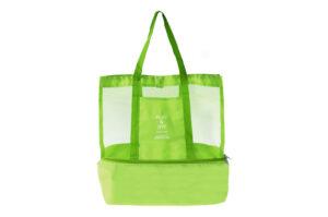 Stor Smidig Väska med Extra Kyl Utrymme Grön