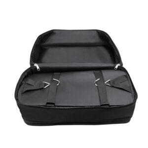 Garderob till resväskan Svart