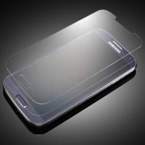 Displayskydd i härdat glas till Samsung S4