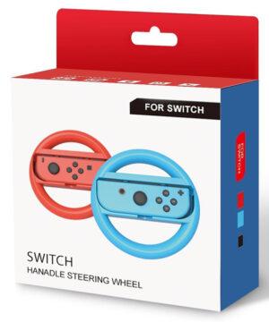 Joy-Con Wheel 2st Blå&Rosa till Nintendo Switch