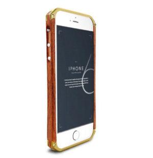 Design´s trä Ronin iPhone 6+ 6s+ Bumper (Guld)