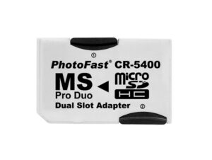MicroSD till Memory Stick PRO Dual adapter