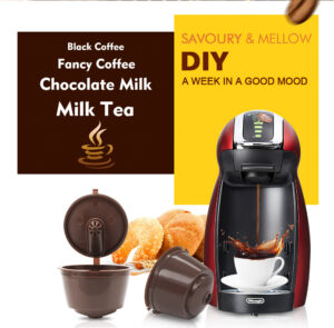 3X Dolce Gusto Nespresso Kaffekapslar Gen3 Expressokapslar