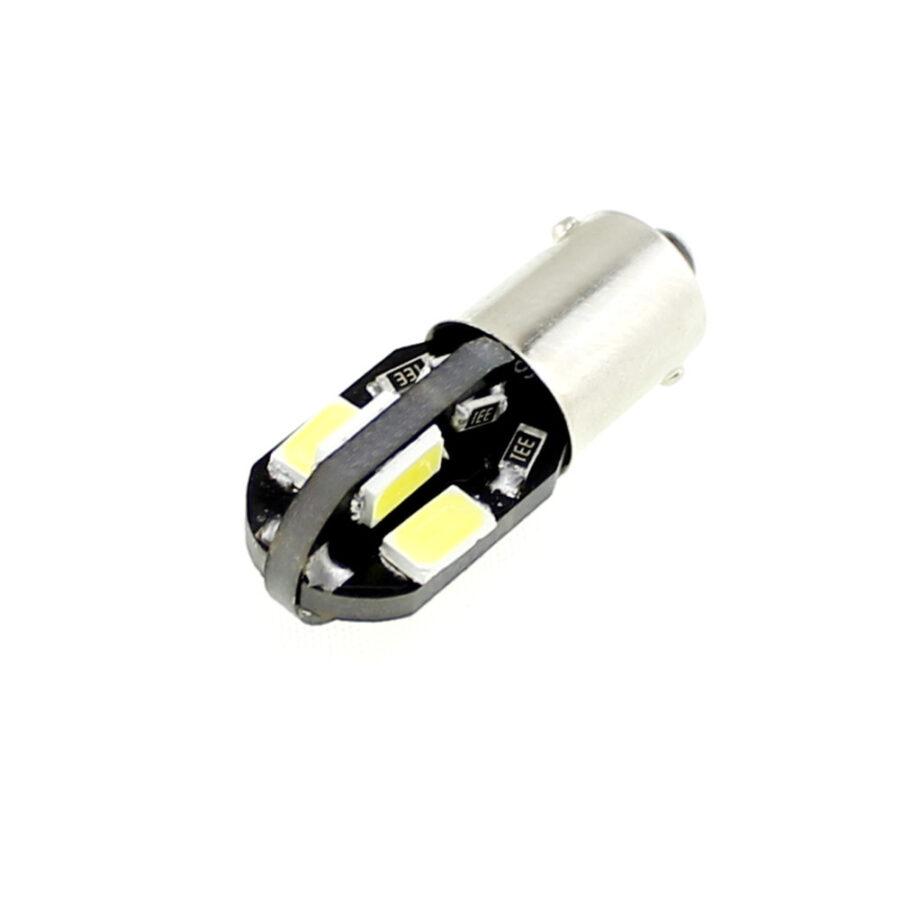 2x CANBUS T4W - BA9s 8 LED 5730 - Vit