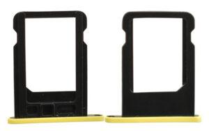 Simkortshållare för iPhone 5c gul