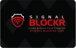 RFID Blockerings kort - RFID skydd - Skimming Blocker