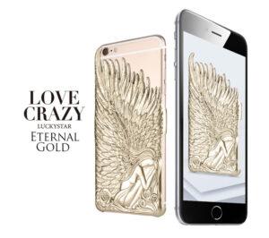 iPhone 6/6s Plus änglavingar skal Guld