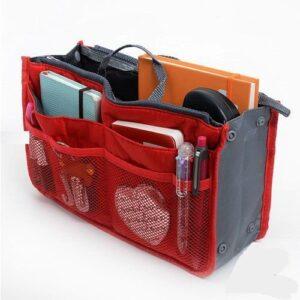 Bag in Bag Handväskinsats Väskinsats Röd