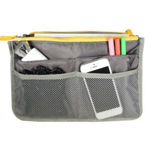 Bag in Bag Handväskinsats Väskinsats Grå