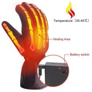 Handske med Värmeslingor Värmehandskar