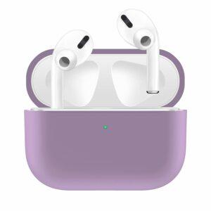 Silikonskal fodral för Apple Airpods PRO Lila