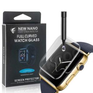 UV Ljus Displayskydd i härdat glas till Apple Watch 40mm
