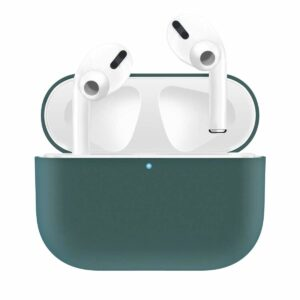 Silikonskal fodral för Apple Airpods PRO Grön