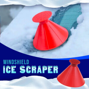 Multi Smart Isskrapa + Tratt Car Windshield Ice Scraper Tool