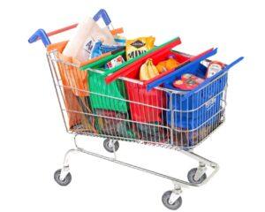 Shoppingväska till kundvagnen, Shoppingkassar, Trolley Bags