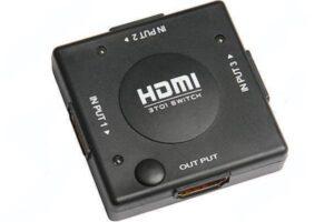 3-Port 1080P HDMI Mini Switch växel (3-i 1-OUT)