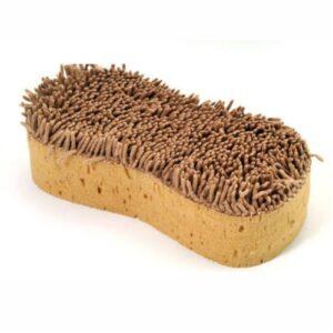 Biltvättsvamp med borste
