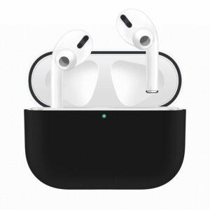Silikonskal fodral för Apple Airpods PRO Svart
