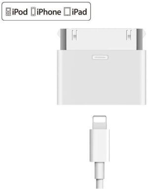 8 - pin till 30 - pin Lightning adapter för iPhone, iPad..