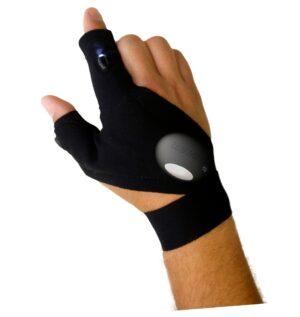 Magic handske Vänster ficklampa du inte kan släppa