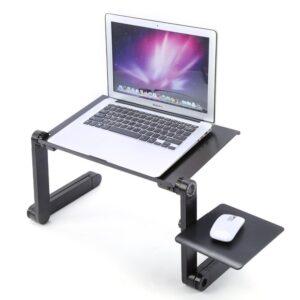 Stort Multifunktionellt Laptopbord med Musbord samt Kylfläkt