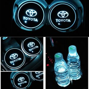 2X Toyota Led bottenplatta till mugghållare