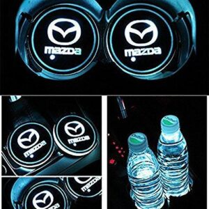 2X Mazda Led bottenplatta till mugghållare