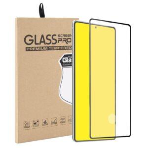 Härdat Glasskydd Samsung Note 20 Full Fit ,Fingerprint