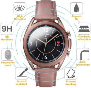 Härdat glas skärmskydd till Samsung Galaxy Watch 41mm