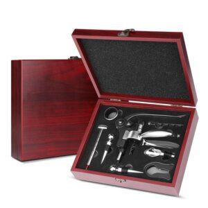 Lux Vinset i presentförpackning Vintillbehör 10 delar.