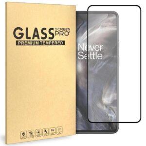 Glasskydd OnePlus Nord Härdat Täcker hela skärmen